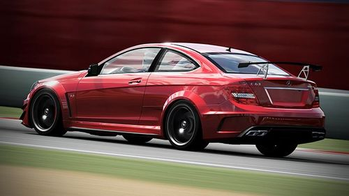 2012 Mercedes C63 AMG BlackSeries